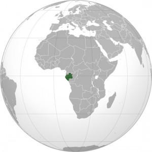 Mapmonde Gabon